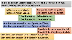Gross-Klein-Schreibung
