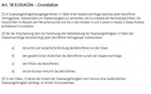 Art. 18 EUStAÜbk-Grundsatz