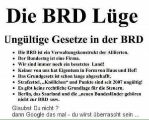 BRD-Lüge