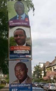 Wahlplakat