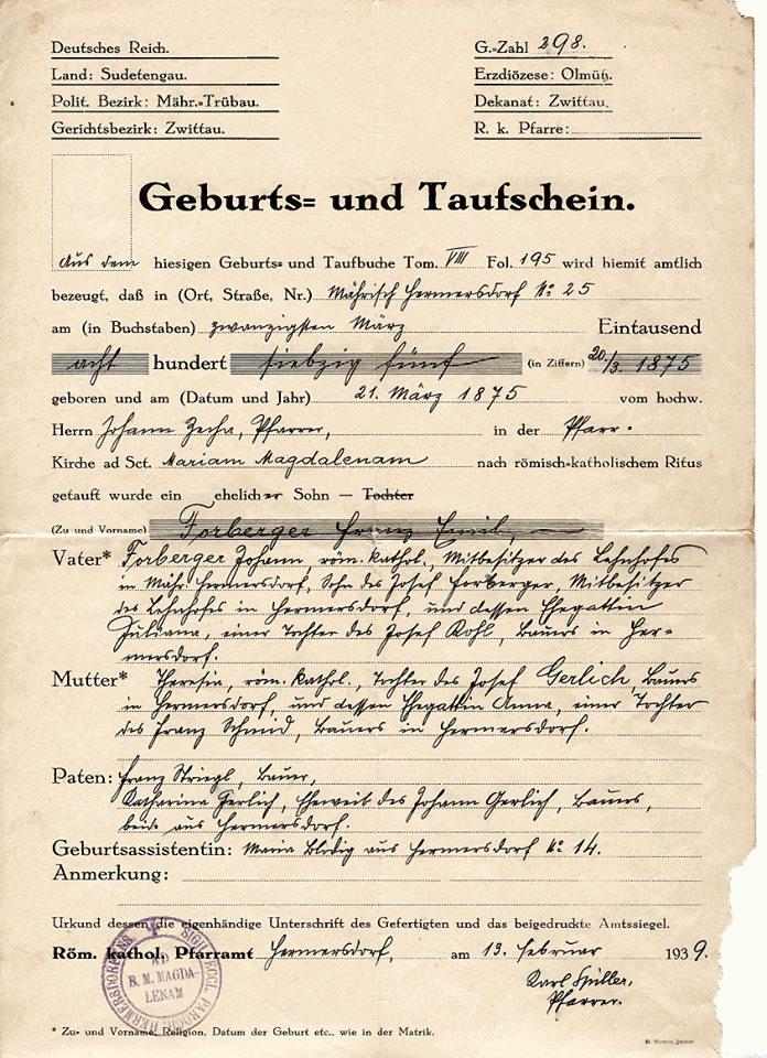 Standesamt Archive - AG Mensch in Württemberg